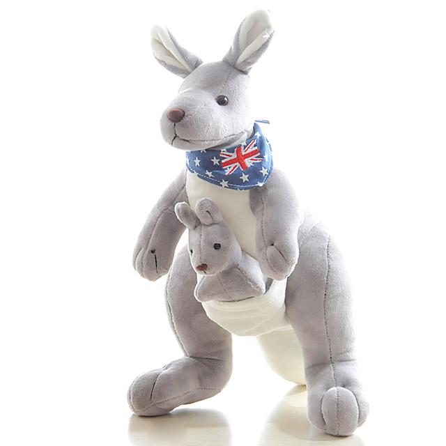 1 pcs Puppets Stuffed Animal Plush Toy Family Kangaroo Cute Fun Imaginative Play, Stocking, Great Birthday Gifts Party Favor Supplies Girls' Kid's