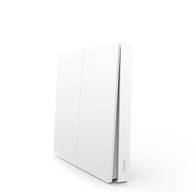 Izvorna Xiaomi bežični dvostruki ključ pametni kontrola svjetla aqara zidni prekidač bežičnog verziju