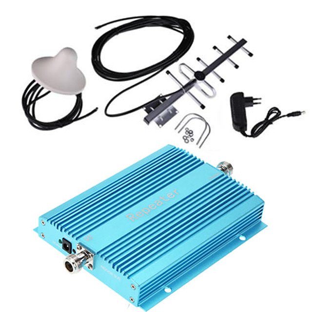 900MHz Mobile Signal Repeater WiFi Repeater Wifi Extender for Home & Building GSM + Antenna + Wireless Indoor Antenna