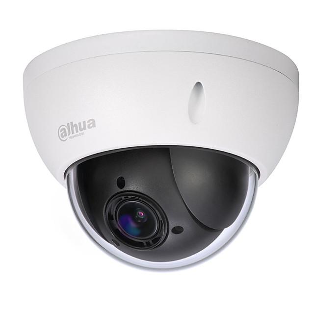dahua® sd22204t-gn Caméra dôme IP dôme réseau 4x4 zoom optique 4x avec objectif 2,7-11 mm et protocole poe onvif