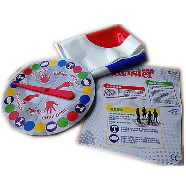 Twister Game Plastic Competition Kid's Unisex Toys Gifts