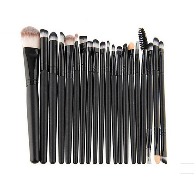 Professional Makeup Brushes Makeup Brush Set 1 set Portable Travel Eco-friendly Professional Full Coverage Synthetic Hair Beech Wood Makeup Brushes for