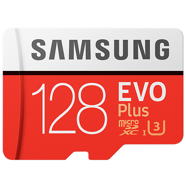 SAMSUNG 128GB Micro SD / TF Memory Card UHS-I U3 100 Speaker