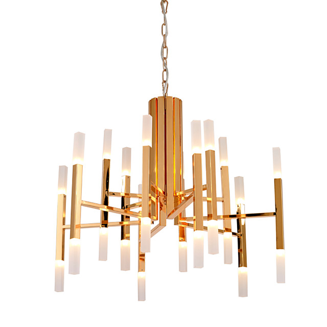 Ecolight™ 68 cm LED / Designers Chandelier Metal Acrylic Candle-style Painted Finishes Modern Contemporary 110-120V / 220-240V