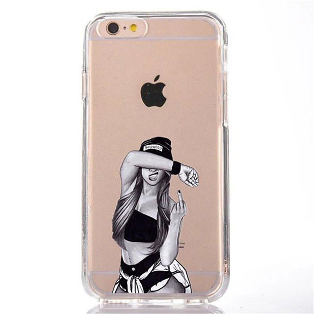 Coque Pour Apple iPhone X / iPhone 8 Transparente / Motif Coque ...