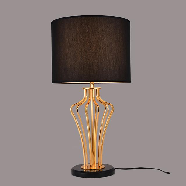 Desk Lamp Eye Protection Traditional / Classic Power plug For Metal 110-120V / 220-240V White / Black
