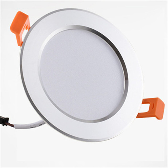 1pc 9 W 900 lm 20 LED Beads Easy Install Recessed LED Downlights Warm White Cold White 85-265 V Home / Office Children's Room Kitchen / 1 pc / RoHS / CE Certified