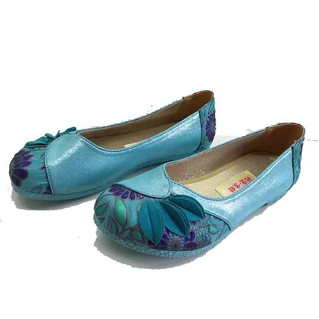Damen Schuhe Mikrofaser Stoff Frühling Sommer Komfort ...