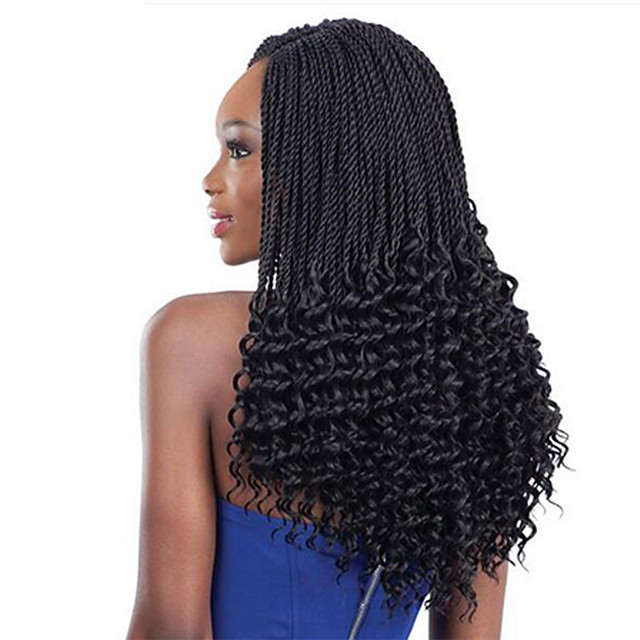 Braiding Hair Curly Bouncy Curl Crochet Curly Braids Hair Accessory Human Hair Extensions Kanekalon Hair Braids Daily