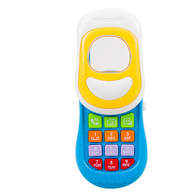 Dollhouse Accessory Toy Phone Educational Toy Baby Music Toy Smart intelligent Plastics for Kid's