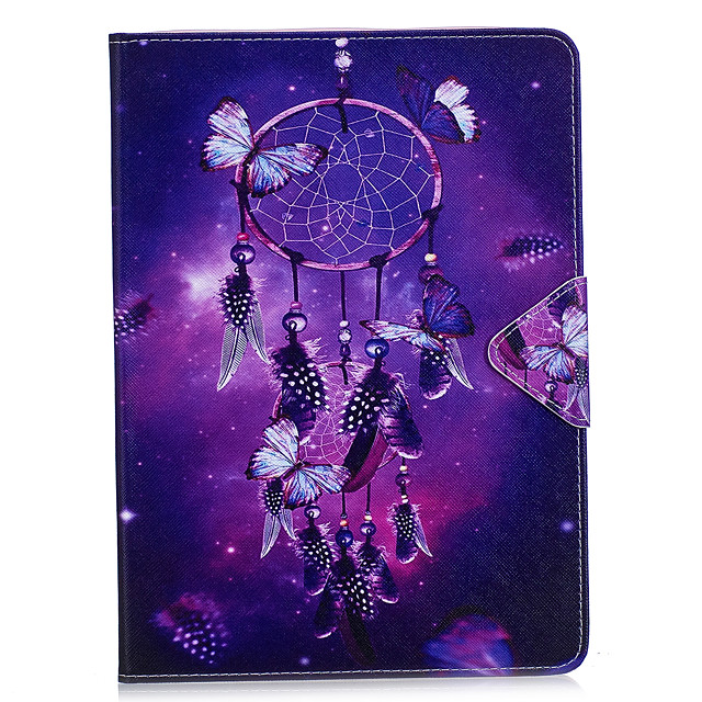 Case For Apple iPad Air / iPad 4/3/2 / iPad Mini 3/2/1 Wallet / Card Holder / with Stand Full Body Cases Dream Catcher / Flower Hard PU Leather / iPad Pro 10.5 / iPad (2017)