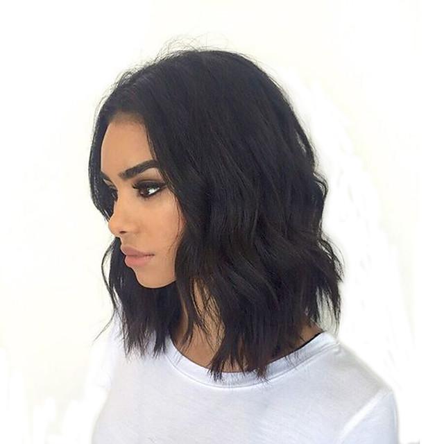 8 12 Short Bob Full Lace Human Hair Lace Wigs With Baby Hair Brazilian 130 Deensity Glueless Short Full Lace Wigs Natural Hairlne 100 Human Hair 5999268 2020 148 92
