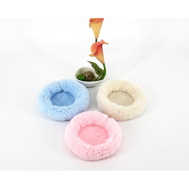 Rodents Mouse Hamster Bed Beds Cotton Blue Pink Beige