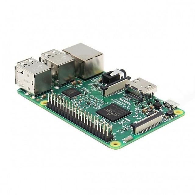 raspberry pi 3 modello b cortex-a53 quad-core board w / 1gb ram