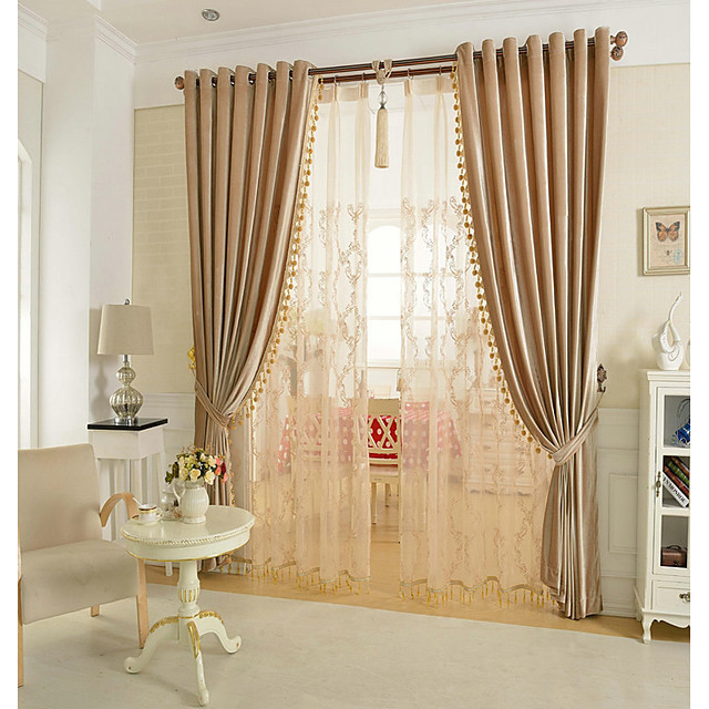 Glam Blackout Curtains Drapes Curtain Living Room   Curtains