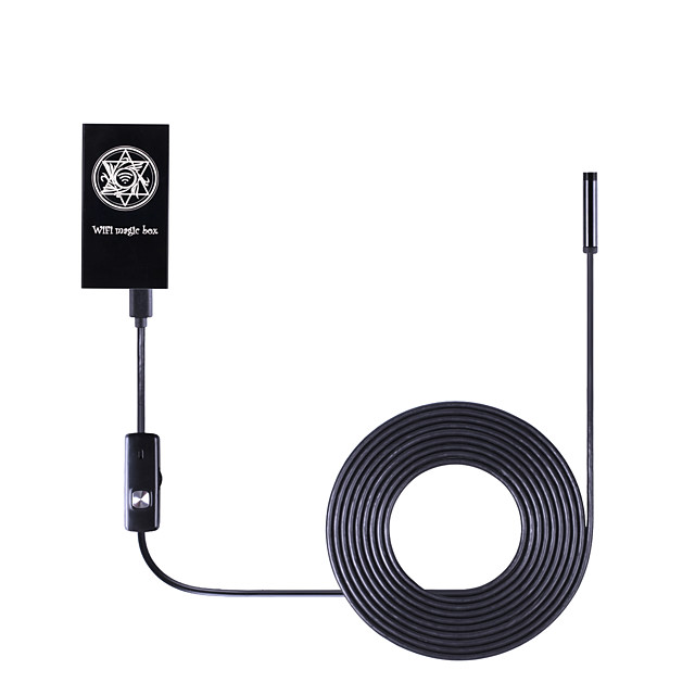 1.0 MP Mini Outdoor Endoscope Borescope with Day Night (Waterproof Wi-Fi Protected Setup)