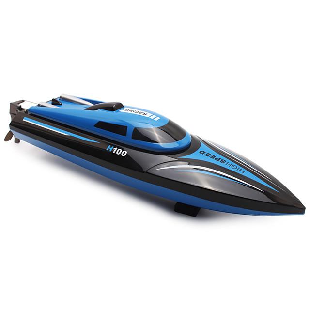 RC Boat TKKJ H100 Speedboat ABS 4 pcs Channels KM/H
