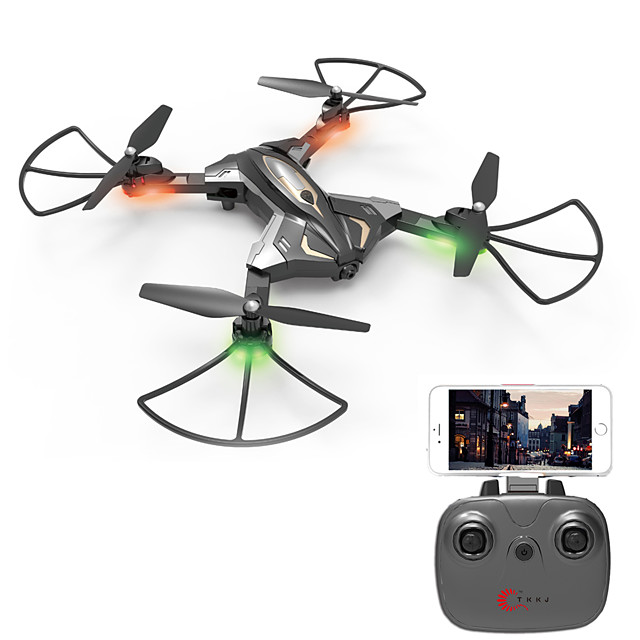 RC Drone SHR / C L600 4CH 6 Axis 2.4G With HD Camera 0.3MP RC Quadcopter One Key To Auto-Return / Auto-Takeoff / Access Real-Time Footage RC Quadcopter / Remote Controller / Transmmitter / USB Cable