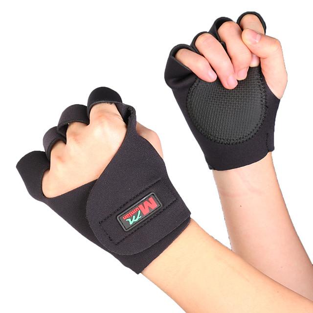 Luvas de Actividade e Esportes Meio Dedo Respirável Compressão Vestir fácil para Ciclismo de Lazer Exercício e Atividade Física Ginásio