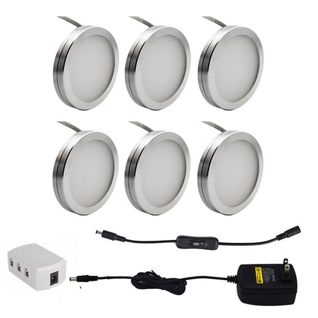ONDENN 1 set 2 W 1800 lm 18 LED Beads Decorative Under Cabinet Lighting Warm White Cold White 85-265 V Cabinet Ceiling Drawer CE Certified