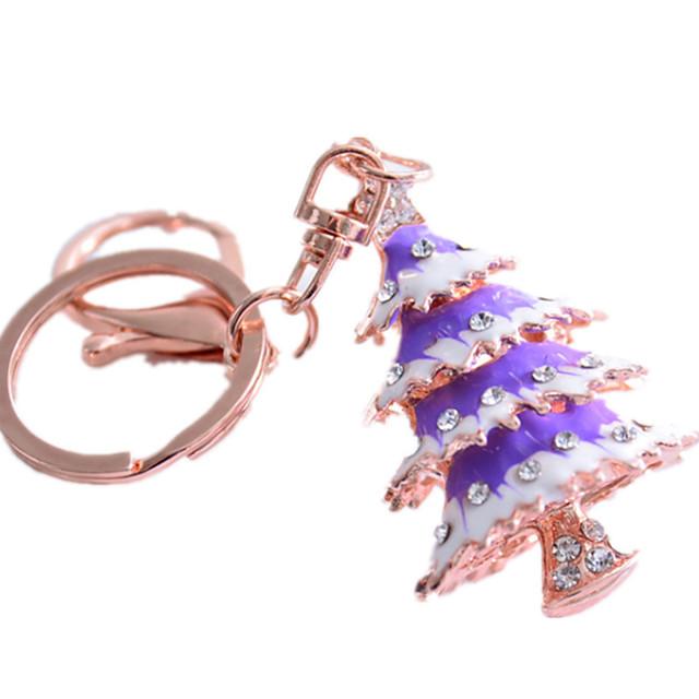 Keychain Christmas Trees Christmas Novelty Zinc Alloy Unisex Toy Gift