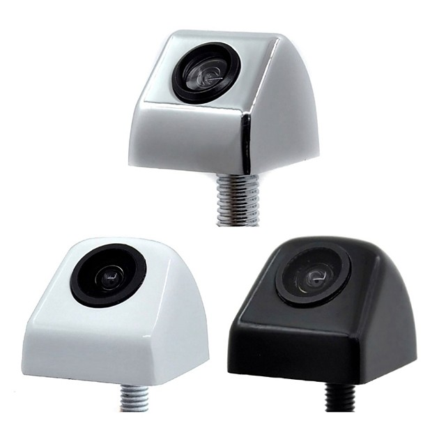 ZIQIAO Mini Waterproof Car Parking Aid Wire Inverts Camera Rear View CCD HD Car Rear View Camera 170 Degree