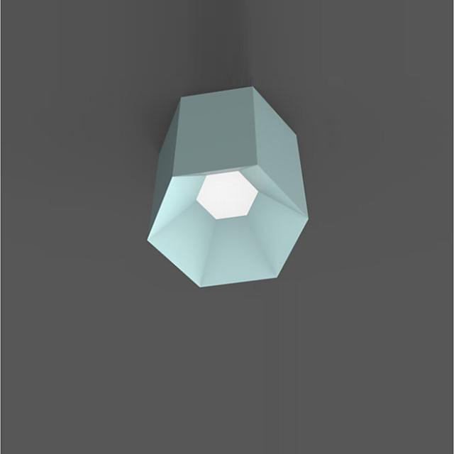 1-Light 25 cm Flush Mount Lights Metal Modern Contemporary 110-120V / 220-240V