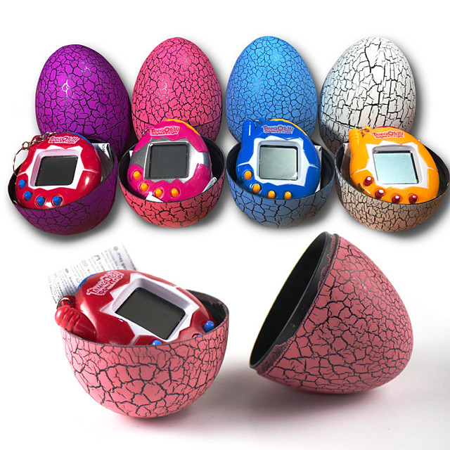 Tamagotchi Electronic Pets Dinosaur Egg Games With Keychain Gift Soft Plastic Kids Boys and Girls Toy Gift 1 pcs