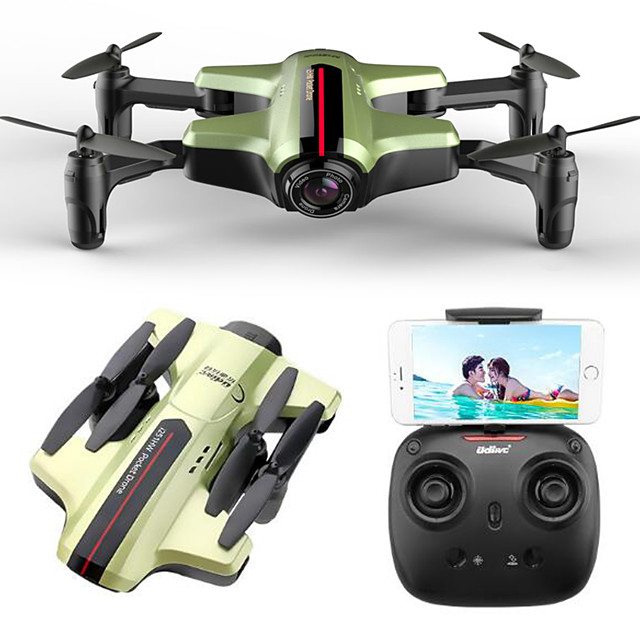 RC Drone udirc i215HW 4CH 6 Axis 2.4G With HD Camera 2.0MP RC Quadcopter FPV / One Key To Auto-Return / Headless Mode RC Quadcopter / Remote Controller / Transmmitter / USB Cable / Hover / Hover