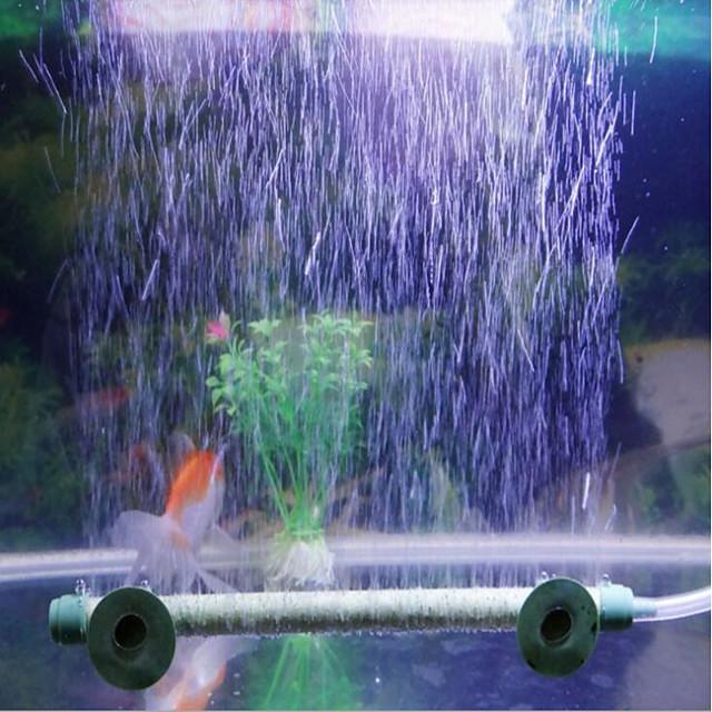 Aquarium Fish Tank Air Stones Filter Media Vacuum Cleaner Waterproof Decoration Easy to Install Marble / Granite Two-piece Suit 110-220 V
