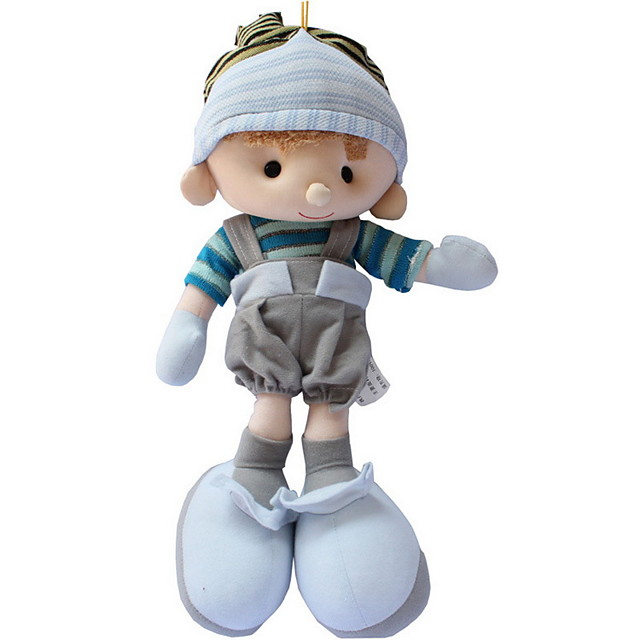1 pcs Stuffed Animal Girl Doll Plush Doll Plush Toys Plush Dolls Stuffed Animal Plush Toy Baby Girl Cute Child Safe Non Toxic Adorable Lovely Wedding Large Size Cloth Plush 35cm Imaginative Play