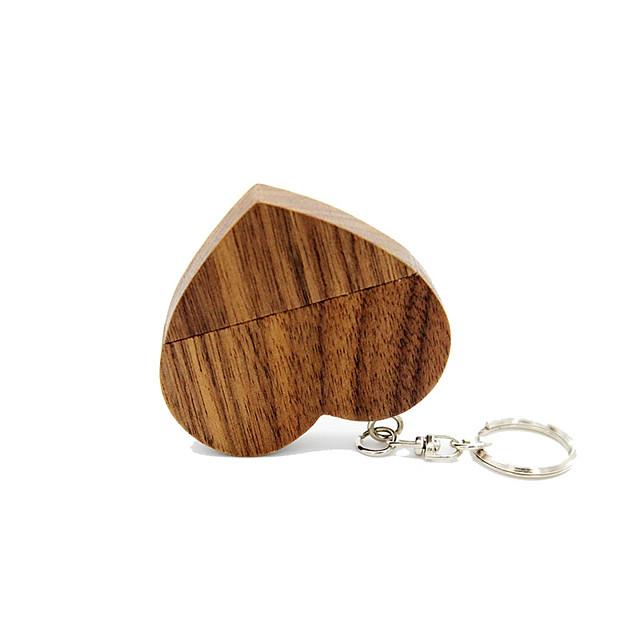 Ants 32GB usb flash drive usb disk USB 2.0 Wooden Keychain Key Chain / Wooden