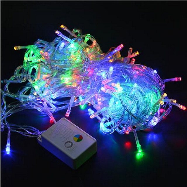 Christmas Lights 20m 200leds Led String 220V for Holiday Party Wedding New Year Home Decoration