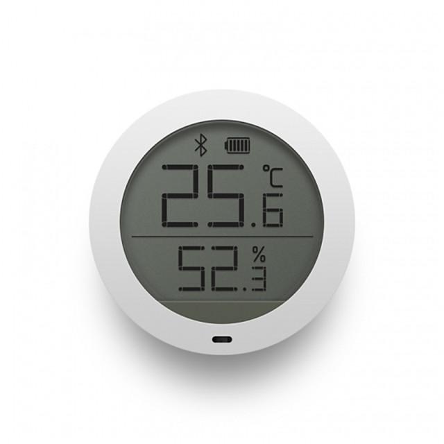 xiaomi mijia bluetooth lämpötilan kosteusanturi LCD-näyttö digitaalinen lämpömittari kosteusmittari smart mi home app reaaliaikainen seuranta seinä tarra