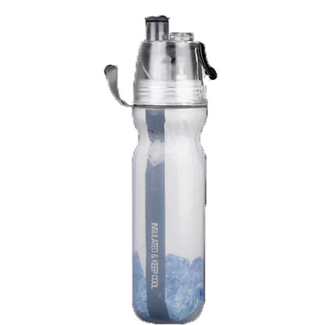 Bike Sports Water Bottle BPA Free Heat Insulated Non Toxic Eco-Friendly For Cycling Bicycle Road Bike Mountain Bike MTB PE Black Red Blue