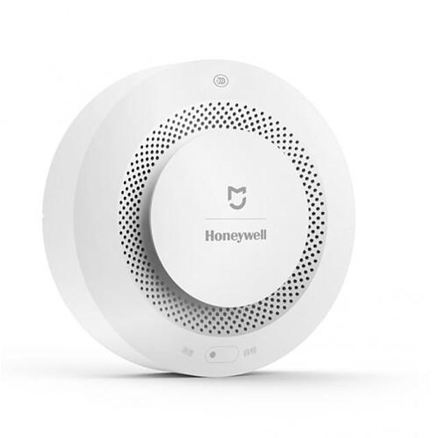 Xiaomi Mijia Honeywell Fire Alarm Detector Audible Visual Smoke Sensor Remote Mihome APP Smart Control for Wall