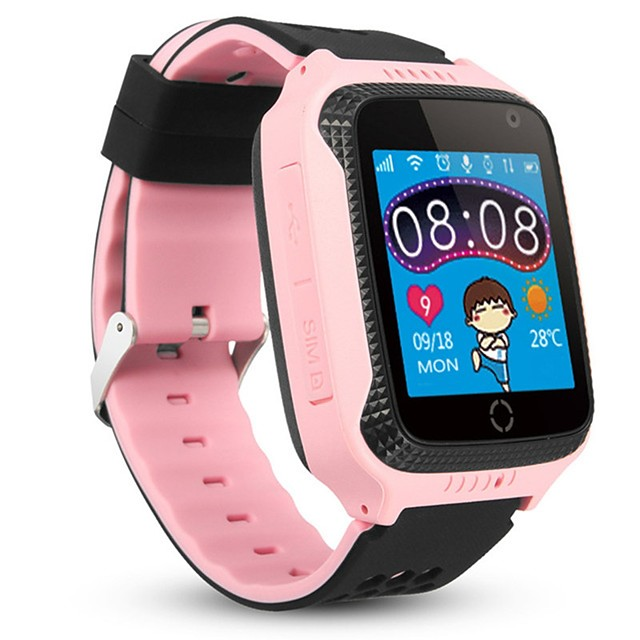 M05 Kid Smart Watch Support SOS/ SIM-card Built-in GPS & Camera Sports Waterproof Smartwatch