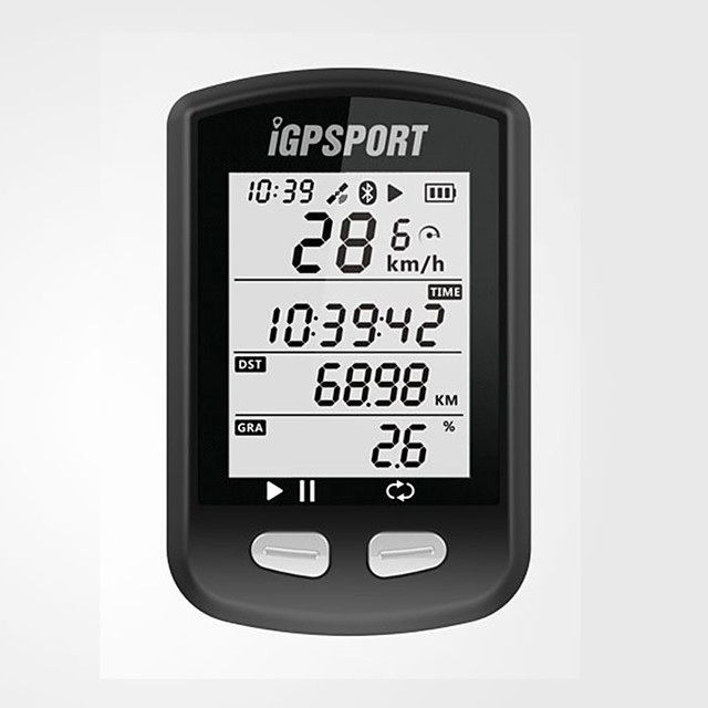 iGPSPORT® iGS10 Bike Computer / Bicycle Computer Waterproof GPS Bluetooth Cycling / Bike Cycling