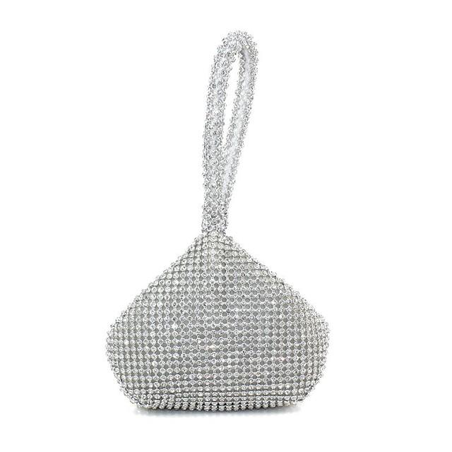 Women's Bags Clutch Evening Bag Wristlet Glitter Shine Party Evening Bag Wedding Bags Handbags Gold Silver