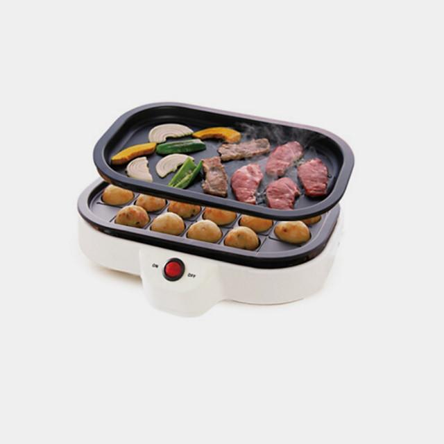 Barbecue elettrico Grill Multiuso Acciaio inossidabile ...