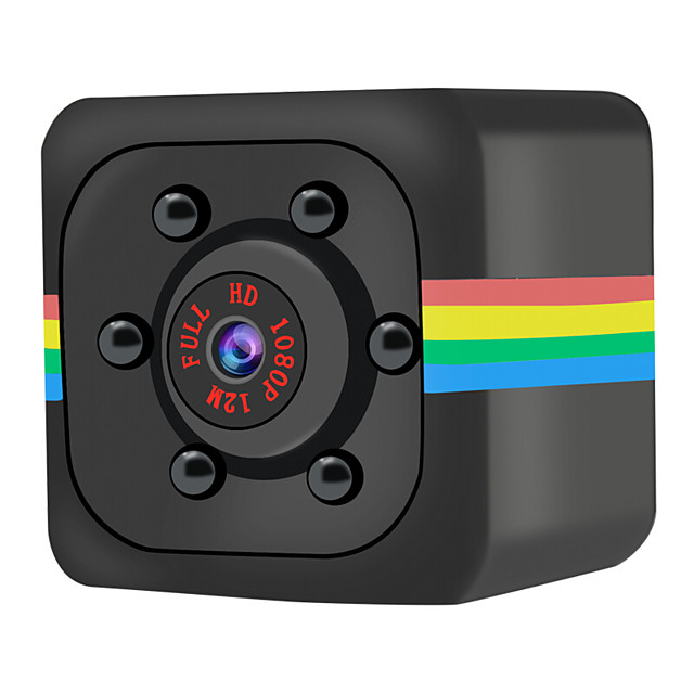 SQ11 1080P Mini Camera HD Camcorder Night Vision Sports DV Video Voice Recorder DV Camera Full HD 2.0MP Infrared Night Vision Sports HD Cam Motion Detection