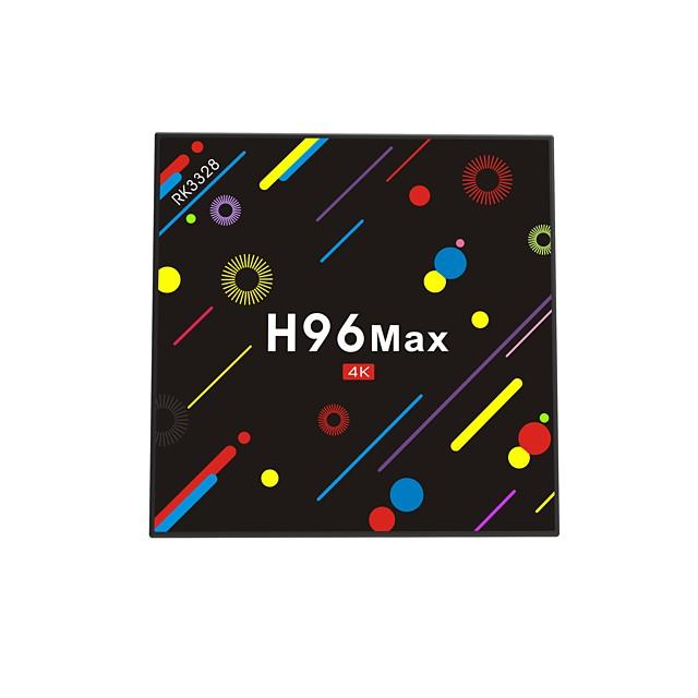 H96 Max Android 7.1 RK3328 4GB 32GB Quad Core