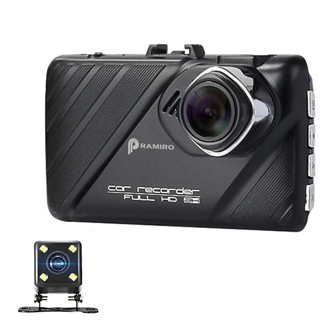 Car DVR FHD 1080P 3 Dash Cams 170 Degree Novatek 96658 Chipset Video Recording Double Lens WDR Function Metal Case DVR Camera