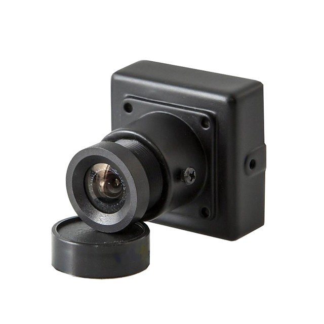 HQCAM® 1/3 CCD 480TVL Color 3.6MM LENS 90° Viewing Angle Mini CCD Camera PAL NTSC Indoor Simulated CameraCCTV Security PAL 1/50s-1/100,000s, NTSC 1/60s-1/100,000s