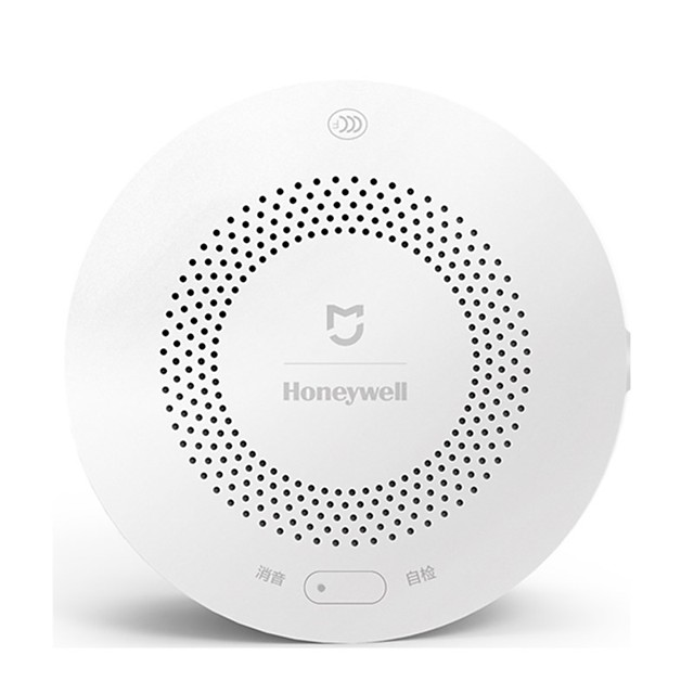 Xaomi Mijia Honeywell Fire Alarm Detector Audible Visual CO Gas Sensor Remote Mihome APP Smart Control for Ceiling