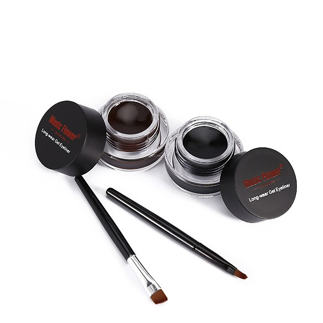 Gel Eyeliner Eyeliner Brush Waterproof / Thick / Thickening Makeup Eyeliner Stylish Party / Evening / Daily / Festival Daily Makeup / Halloween Makeup / Party Makeup Long Lasting Sweatproof Cosmetic