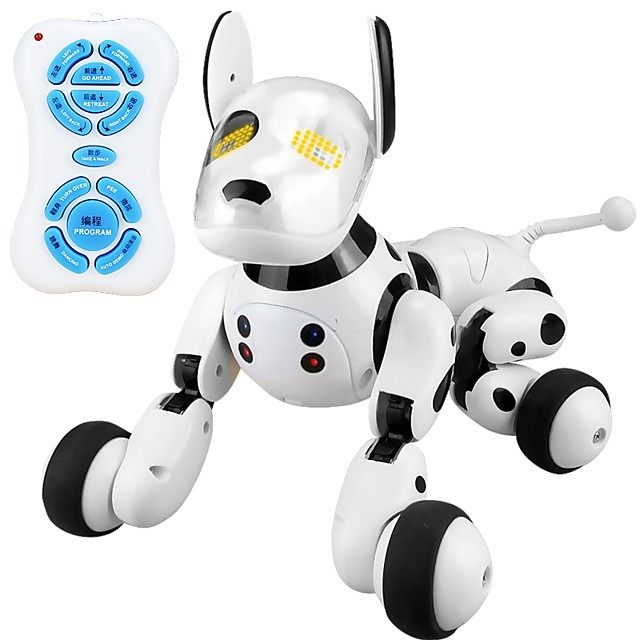 2.4G Wireless Remote Control Smart Dog Electronic Pets Robot Dog Dog Animal Singing Dancing Walking A Grade ABS Plastic Boys' Girls' Toy Gift / 14 years+ / intelligent
