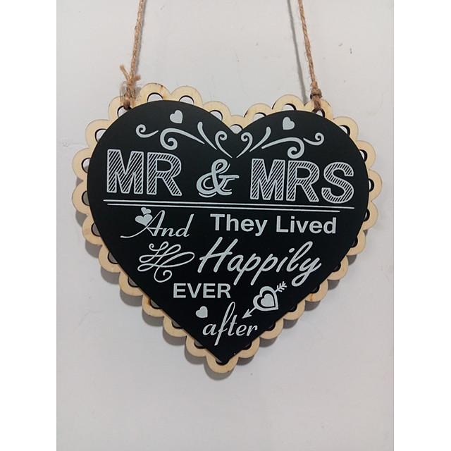 Ornaments Wooden Wedding Decorations Wedding / Engagement Beach Theme / Fairytale Theme / Wedding All Seasons