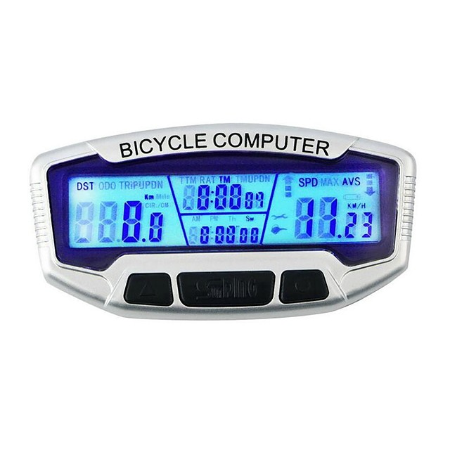 SD-558A Bike Computer / Bicycle Computer Stopwatch Backlight Wired Outdoor Cycling