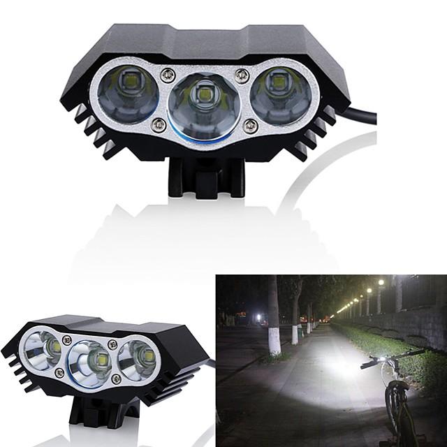 LED Bike Light Front Bike Light Headlight LED Mountain Bike MTB Bicycle Cycling Waterproof Multiple Modes Super Bright Wide Angle 18650 3000 lm DC Powered Cycling / Bike / Aluminum Alloy / IPX-5
